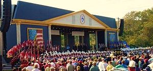 University of Louisville Cardinal Marching Band - UofL Band at the 2008 Ryder Cup