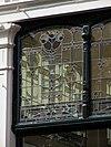 rm461448 den haag - statenplein 21 (detail glas in lood)