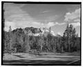 ROAD VIEW AT CHAOS CRAGS. LOOKING S - Lassen Park Road, Mineral, Tehama County, CA HAER CA-270-20.tif