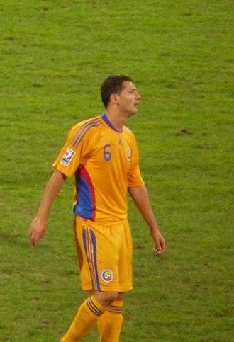 Mirel Rădoi - Rădoi playing for Romania in 2009