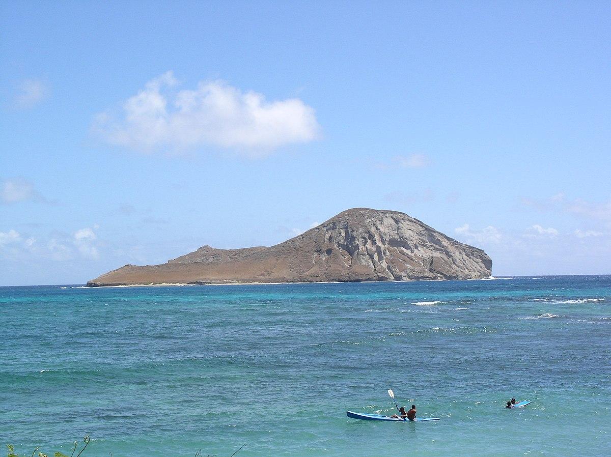 Rabbit Island Hawaii Map