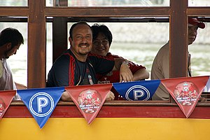 Rafael Benítez - Benítez during Liverpool's Asia Tour in 2009