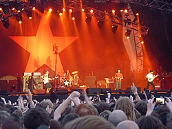 Rage Against the Machine live im Jahr 2010