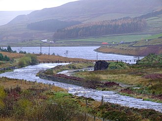 Flood Studies Report - Rainfall on a rural catchment in Longdendale, Derbyshire.