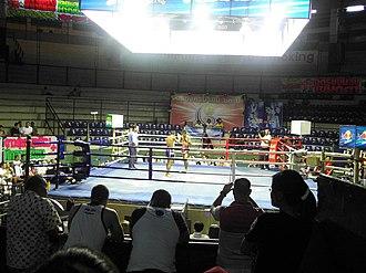 Pom Prap Sattru Phai District - Inside Ratchadamnoen Boxing Stadium