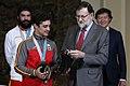 Rajoy recibe al equipo español que ha participado en los JJOO de Invierno 04.jpg