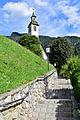 Ramsau im Zillertal - Filialkirche Maria sieben Schmerzen - Aufgang.jpg