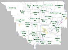 Randolph County, Arkansas - Wikipedia