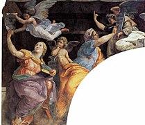 Raphael Sibyls and Prophets frescos s Maria della Pace 03.jpg