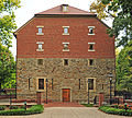 Rapp Granary 1818 in New Harmony, Indiana.jpg