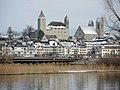 Rapperswil - Schloss-Stadtpfarrkirche - Seedamm - Obersee - Holzbrücke 2013-01-21 11-22-59 (P7700).JPG