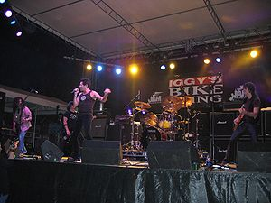 Ratt performing at a concert in Chicago, 2005