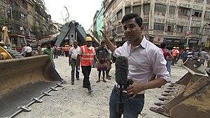 Ravi Agrawal - Ravi Agrawal reporting from Kolkata, April 2016