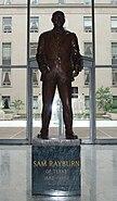 Rayburn statue