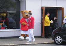 Redcoat Minehead Reception March 2011.jpg
