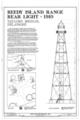 Reedy Island Range Rear Light, Route 9, Taylors Corner, New Castle County, DE HAER DEL,2-TAYBR,1- (sheet 1 of 2).png
