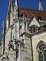 Regensburger Dom, Suedfassade, Wasserspeier 1 bis.jpg