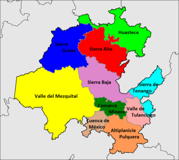 Estado De Hidalgo Wikipedia La Enciclopedia Libre