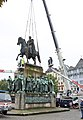 Reiterstandbild Friedrich Wilhelm III-Aufstellung 2009-8097.jpg