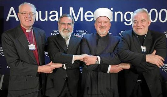 Religious Leaders, World Economic Forum 2009 Annual Meeting