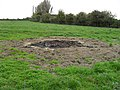Remains of a fire - geograph.org.uk - 1572551.jpg
