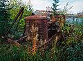 Remains of heavy equipment, Carcross, Yukon (10752573945).jpg