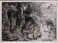 Rembrandt, san francesco penitente, 1657 (haarlem, teylers museum).JPG