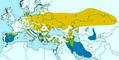 Remiz pendulinus subspecies distribution map.png