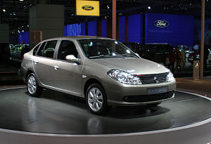 Renault Symbol front wdebut Moscow autoshow 2008 27 08.jpg