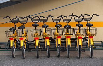 Bicycle-sharing system - Rental bikes in Turku, Finland
