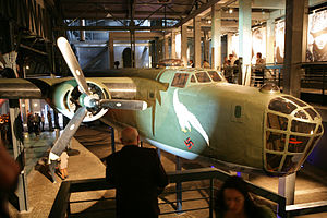 Warsaw Uprising Museum - Replica of the B-24 Liberator