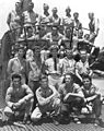 Rescued airmen on USS Tang (SS-306) in May 1944.jpg