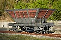 Restored Q class railway coal wagon at Brunner Mine site.jpg