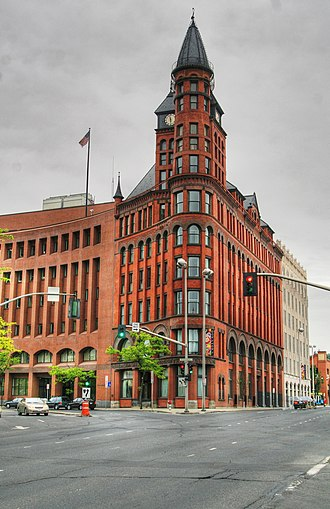 The Spokesman-Review -  The Review Building, designed by Alabama-born Chauncey B. Seaton