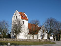 Revinge Church in Revingeby