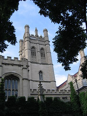 Hyde Park, Chicago - The southwestern part of Hyde Park serves as the campus of the University of Chicago, one of the world's most prestigious universities.