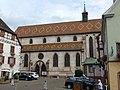 Ribeauvillé - Ancienne église des Augustins dite de la Providence - place de l'Hôtel de Ville - 3 rue de l'Abbé Kremp (1-2016) P1050714.jpg