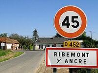 Ribemont-sur-Ancre (panneau entrée) 1.jpg