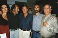 Ricardo Casas y otros en las Jornadas de Cine Documental de Bahía, setiembre de 1998.jpg
