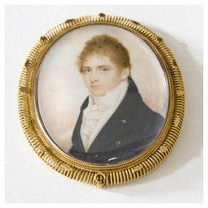 Richard John Uniacke Jr. - Richard John Uniacke Jr. (son of Richard John Uniacke) by Robert Field, Uniake Estate Museum