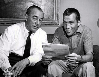 Richard Rodgers - Rodgers was the subject of a two-part special on Ed Sullivan's Toast of the Town television show in 1952.