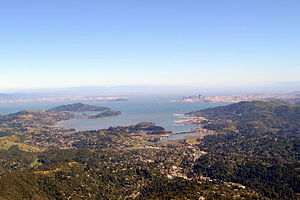 Richardson Bay - Richardson Bay viewed from Mount Tamalpais