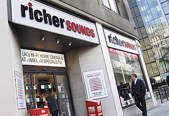 Richer Sounds - Richer Sounds store in the City of London