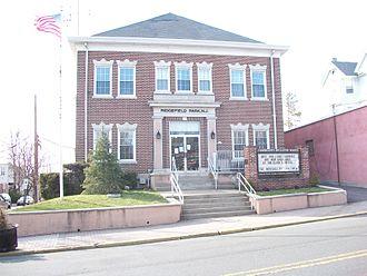 Ridgefield Park, New Jersey - Municipal building in Ridgefield Park on Main Street.