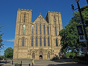 Ripon - Image: Ripon Cathedral geograph.org.uk 1401146