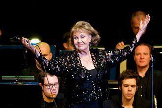 Rita Reys - Rita Reys gets a standing ovation at the Amsterdam Concertgebouw, Thursday 17 December 2009.