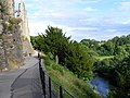 River Swale below Richmond Castle - geograph.org.uk - 519076.jpg