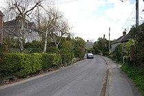 Road through Church Knowle village - geograph.org.uk - 764717.jpg