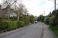 Road through Church Knowle village - geograph.org.uk - 764717.jpg