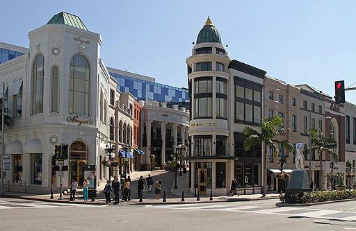 Rodeo Drive & Via Rodeo, Beverly Hills, LA, CA, jjron 21.03.2012